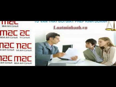 Thay đổi giấy phép kinh doanh tại Hà Nội