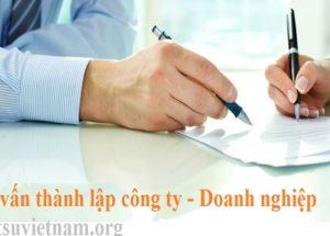 Tư vấn thành lập công ty doanh nghiệp tại Hà Nội