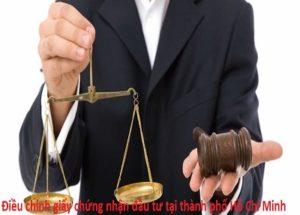 Hồ sơ thủ tục điều chỉnh giấy chứng nhận đầu tư tại thành phố Hồ Chí Minh