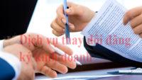 Dịch vụ thay đổi đăng ký kinh doanh tại Hà Nội